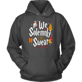 """We Solemnly Swear"" Hoodie - Gifts For Reading Addicts"