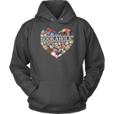 """I am a bookaholic"" Hoodie - Gifts For Reading Addicts"