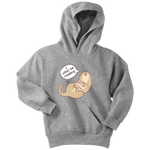 """I otter be reading"" YOUTH HOODIE - Gifts For Reading Addicts"