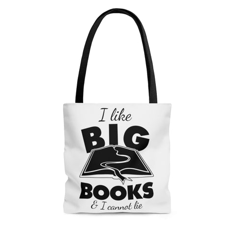 I like big books Tote Bag - Gifts For Reading Addicts