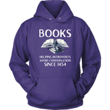 """Books"" Hoodie - Gifts For Reading Addicts"