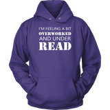 """Under Read"" Hoodie - Gifts For Reading Addicts"