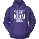 """Straight outta gilead"" Hoodie - Gifts For Reading Addicts"