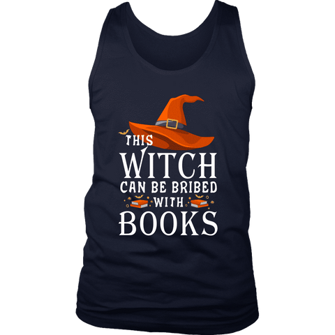 """Bribed With Books"" Men's Tank Top"