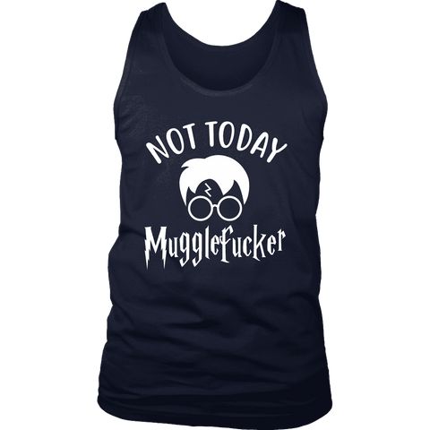 """Not Today"" Men's Tank Top - Gifts For Reading Addicts"