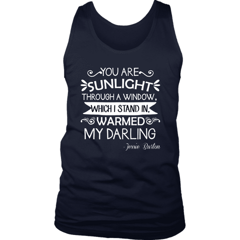 """You are sunlight"" Men's Tank Top - Gifts For Reading Addicts"