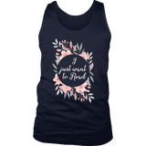 """Want to read"" Men's Tank Top"
