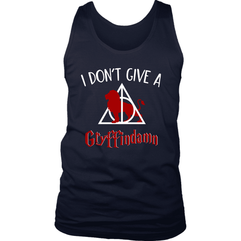 """I Don't Give A Gryffindamn"" Men's Tank Top - Gifts For Reading Addicts"