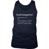 """Book hangover"" Men's Tank Top - Gifts For Reading Addicts"