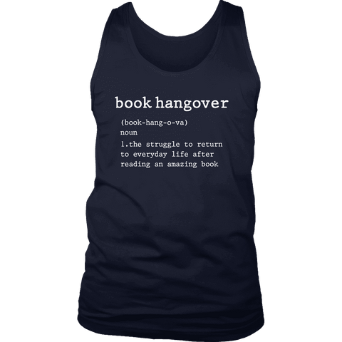 """Book hangover"" Men's Tank Top"