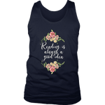 """Reading"" Men's Tank Top - Gifts For Reading Addicts"