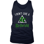 """i Don't Give A Slythershit"" Men's Tank Top - Gifts For Reading Addicts"