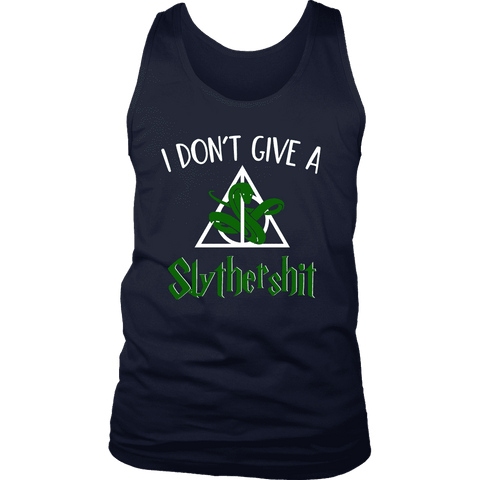 """i Don't Give A Slythershit"" Men's Tank Top"