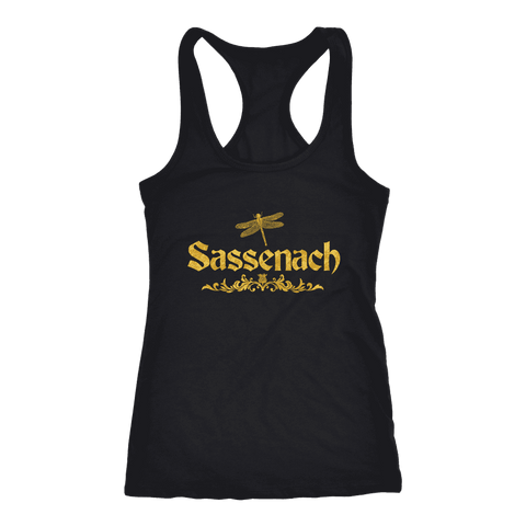 """Sassenach"" Women's Tank Top - Gifts For Reading Addicts"