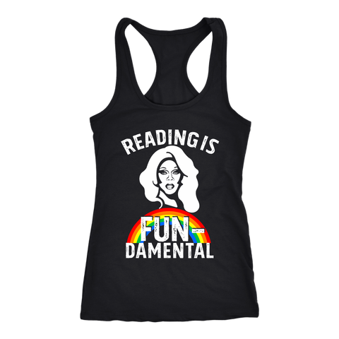 "Rupaul""Reading Is Fundamental"" Women's Tank Top - Gifts For Reading Addicts"
