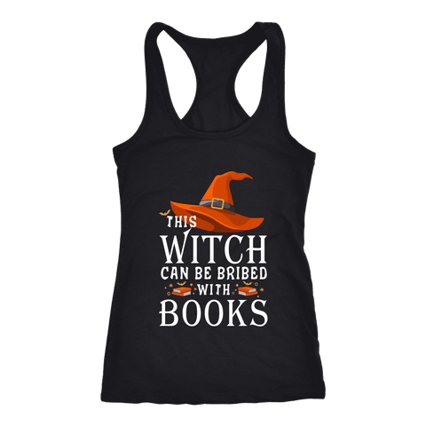 """Bribed With Books"" Women's Tank Top"