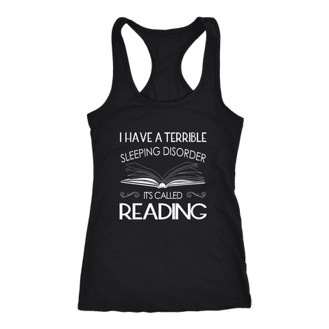 """Sleeping disorder"" Women's Tank Top - Gifts For Reading Addicts"