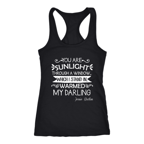 """You are sunlight"" Women's Tank Top - Gifts For Reading Addicts"