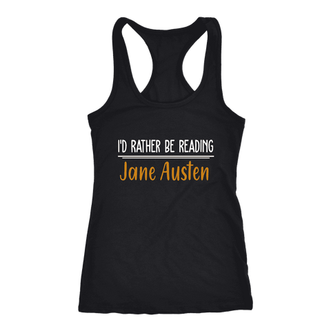 """I'd Rather Be reading JA"" Women's Tank Top"