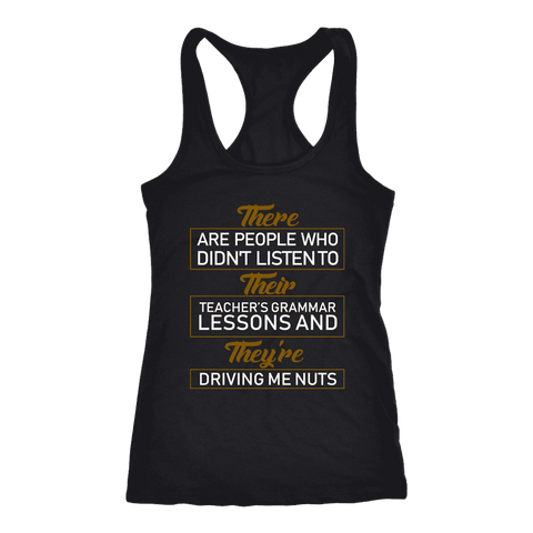 """GRAMMAR"" Women's Tank Top - Gifts For Reading Addicts"