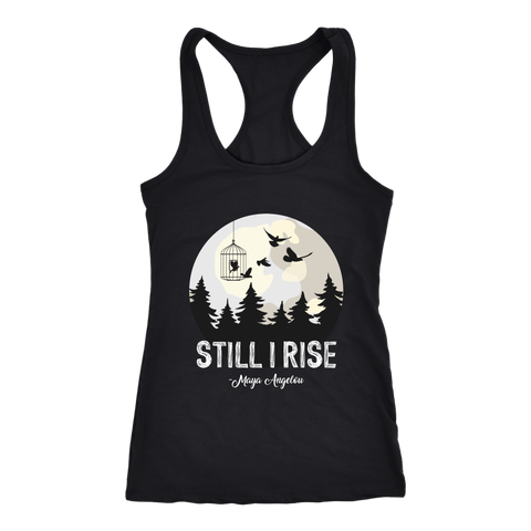 """Still I Rise"" Women's Tank Top - Gifts For Reading Addicts"