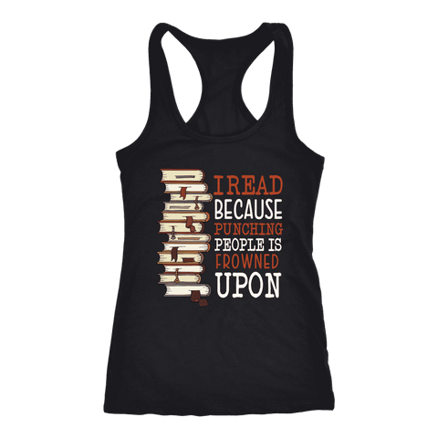 """I Read"" Women's Tank Top"