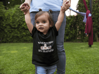 """Bookworm In Training""Toddler T-Shirt"