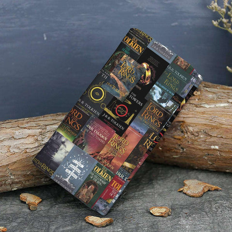 The Lord Of The Rings Book Covers Womens Wallet - Gifts For Reading Addicts