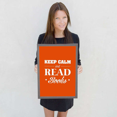 Keep Calm And Read Books - Gifts For Reading Addicts