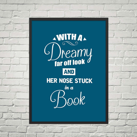 The Beauty & The Beast Quote-For Reading Addicts