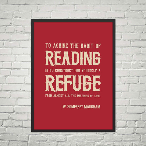 To Acquire the Habit Of Reading Is ...-For Reading Addicts