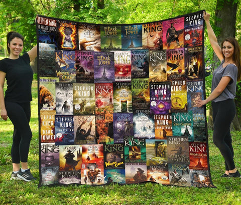 The Dark Tower Books Quilt - Gifts For Reading Addicts