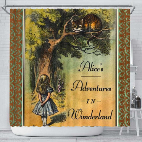 Alice's Adventures In Wonderland Curtain - Gifts For Reading Addicts
