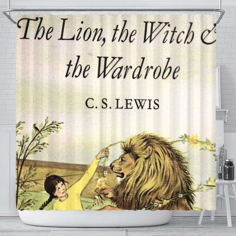 The Lion,The Witch & The Wardrobe Curtain - Gifts For Reading Addicts