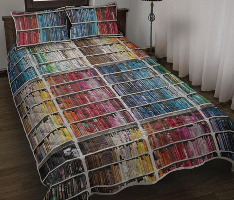Bookish Quilt Bed - Gifts For Reading Addicts