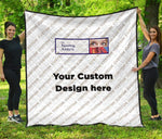 Custom Design Quilt - Gifts For Reading Addicts