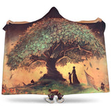 book tree hooded blanket - Gifts For Reading Addicts