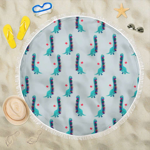 Bookish Round Beach Blanket - Gifts For Reading Addicts