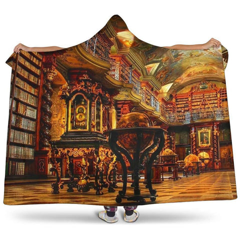 library hooded blanket - Gifts For Reading Addicts