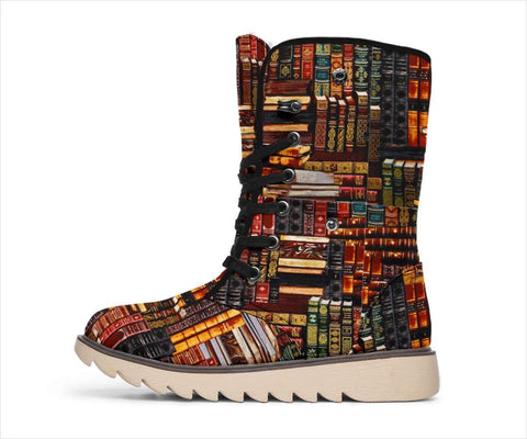 Bookish Polar Boots - Gifts For Reading Addicts