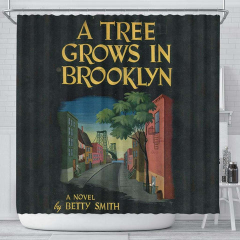 A Tree Grows In Brooklyn Curtain - Gifts For Reading Addicts