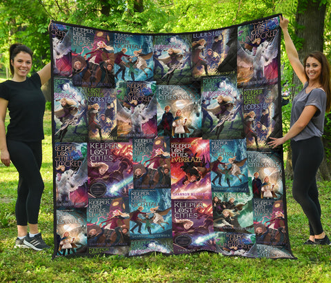 Keeper Of The Lost Cities Quilt - Gifts For Reading Addicts