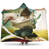Kid reading hooded blanket - Gifts For Reading Addicts