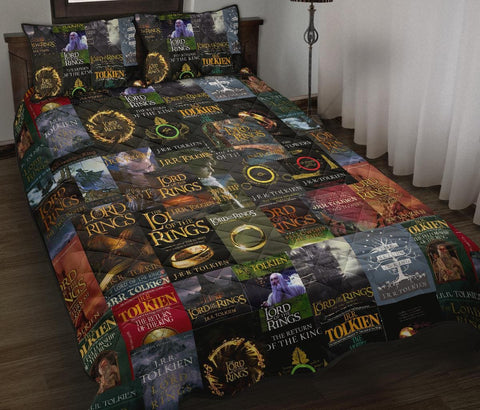 The Lord Of The Rings Quilt Bed - Gifts For Reading Addicts