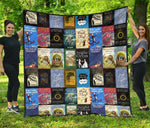 Book Covers Quilt - Gifts For Reading Addicts