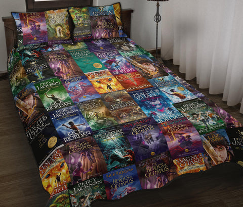 Rick Riordan(Percy Jackson & Magnus Chase) bed quilt - Gifts For Reading Addicts
