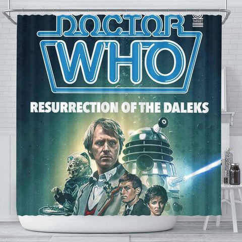 Doctor Who Curtain - Gifts For Reading Addicts