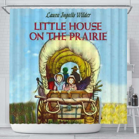 Little House On The Prairie Curtain - Gifts For Reading Addicts