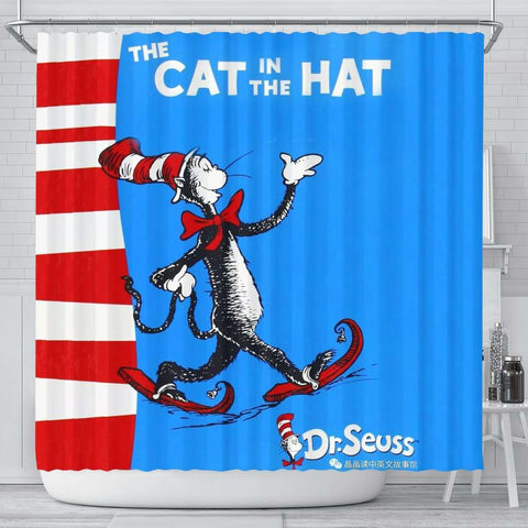 The Cat In The Hat Curtain - Gifts For Reading Addicts