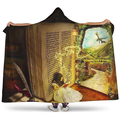 magical open book hooded blanket - Gifts For Reading Addicts
